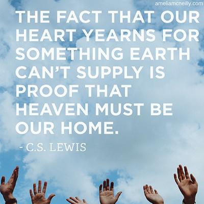 cs lewis heaven quote